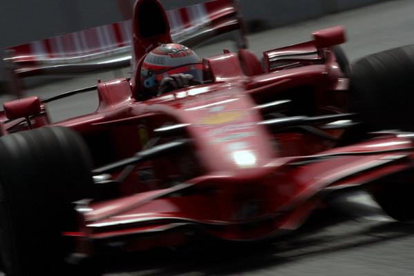 2. Training, Räikkönen Schnellster in Valencia: Schmutzige Angelegenheit