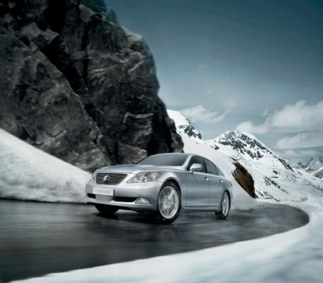 Allrad-Option für Lexus LS 460