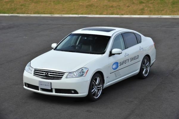 Auch Nissan schafft Technologien für den Rundumschutz