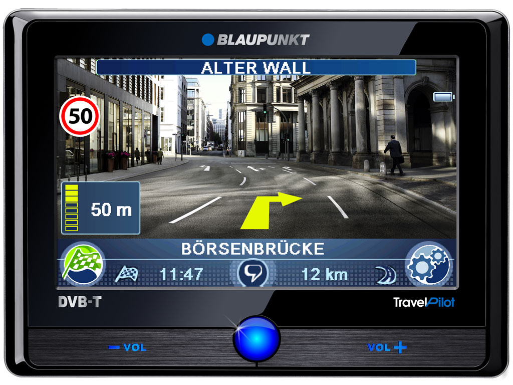 Blaupunkt stellt Video-Navigation mit Verkehrsschilderkennung vor