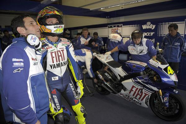 Brivio lobt Rossis Kampfgeist: Rossi bleibt vorsichtig