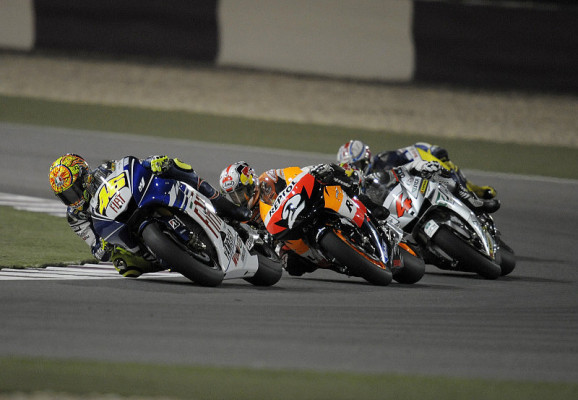 Dovizioso kämpft gegen Rossi: Ein Traum