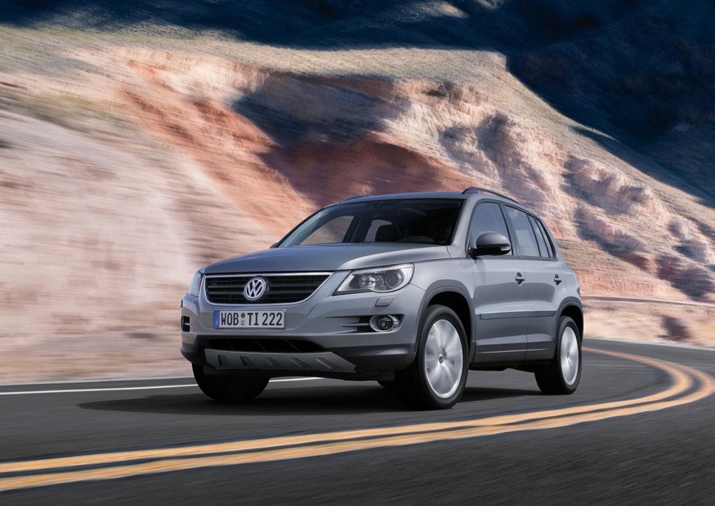 Fünf Sterne für Volkswagen Tiguan