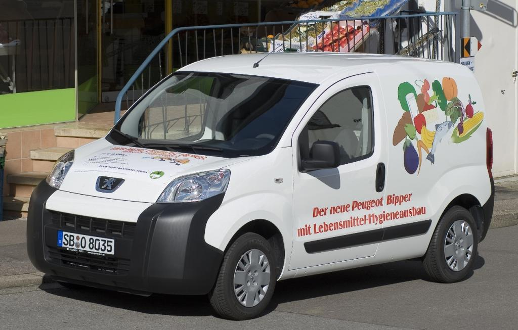 Hygieneausbau für Peugeot Bipper