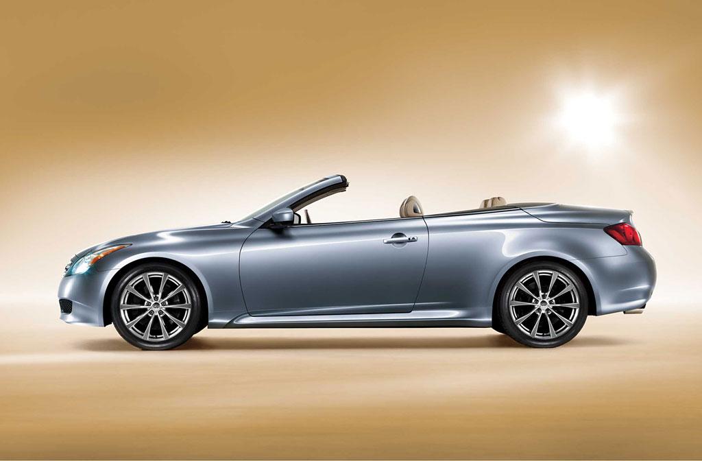 Infiniti zeigt G37 Cabriolet