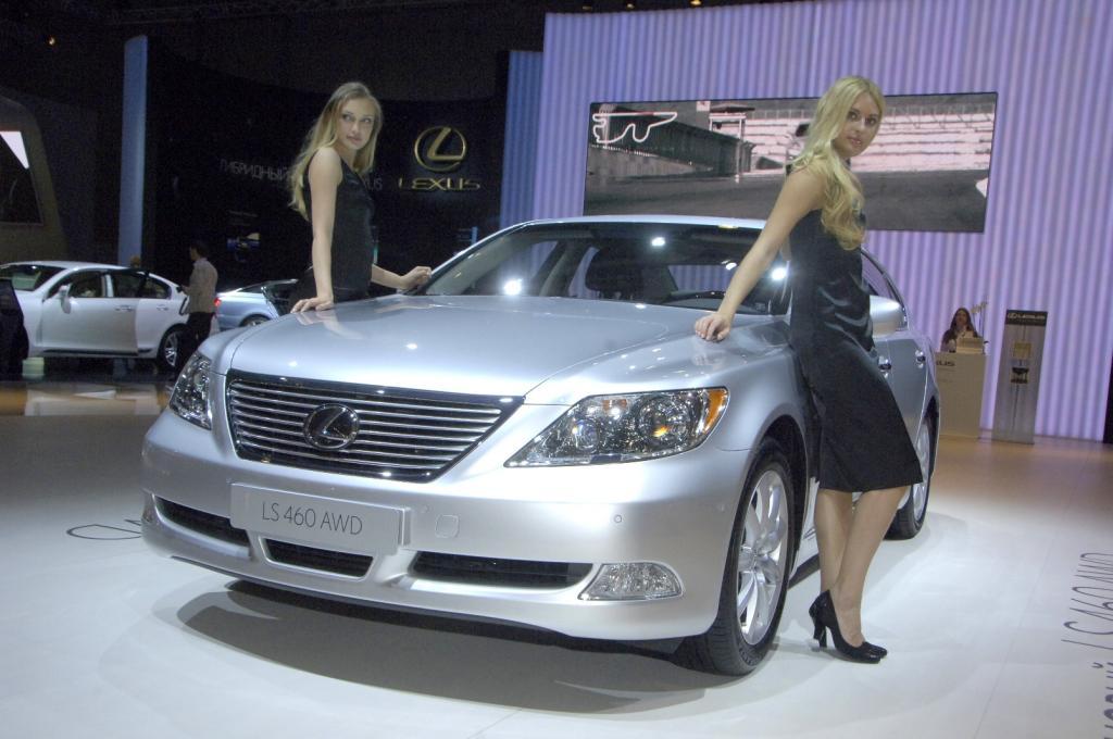 Lexus LS 460 AWD feiert Weltpremiere