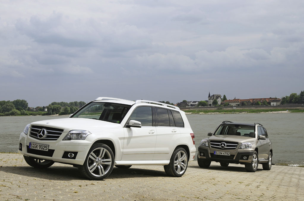 Mercedes-Benz verzeichnet mit GLK-Klasse guten Auftragseingang