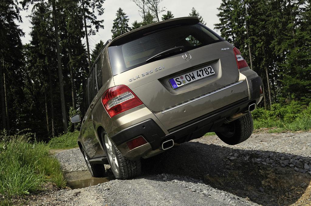 Mercedes GLK: Neuer Stürmer in der SUV-Liga