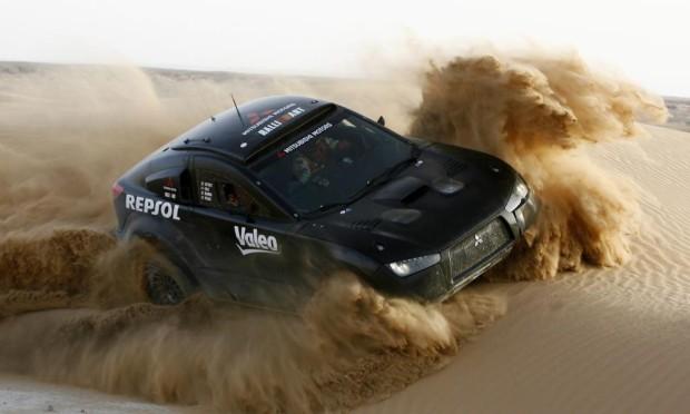 Mitsubishi startet bei Baja Portalegre mit ''Racing Lancer''
