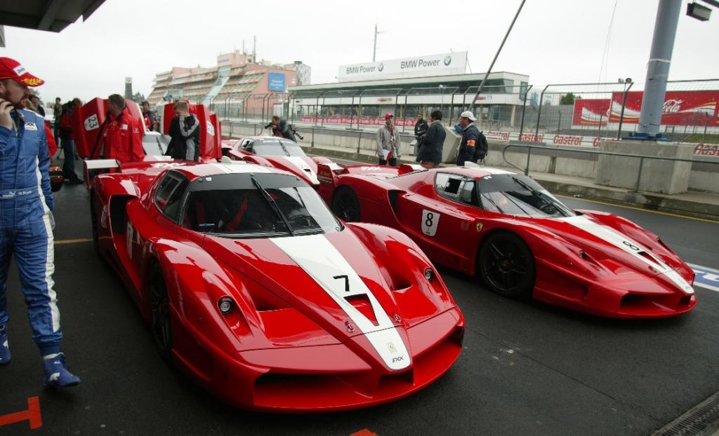 Nürburgring GmbH gewinnt Zender Exklusiv-Auto für Ferrari-Showroom