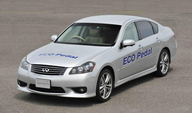 Nissan entwickelt Sprit sparendes Gaspedal-System