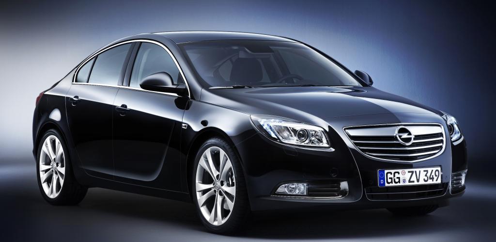 Opel präsentiert mit dem Insignia sein neues Marken-Design