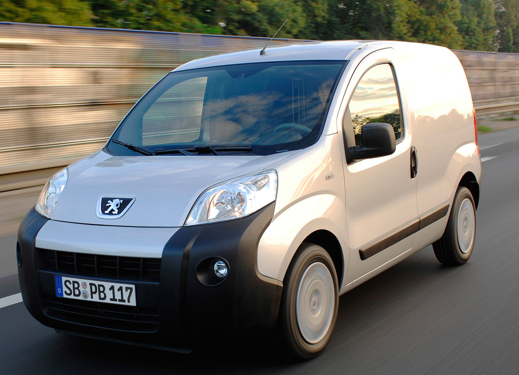 Peugeot Bipper Kastenwagen auch mit automatisierten Getriebe