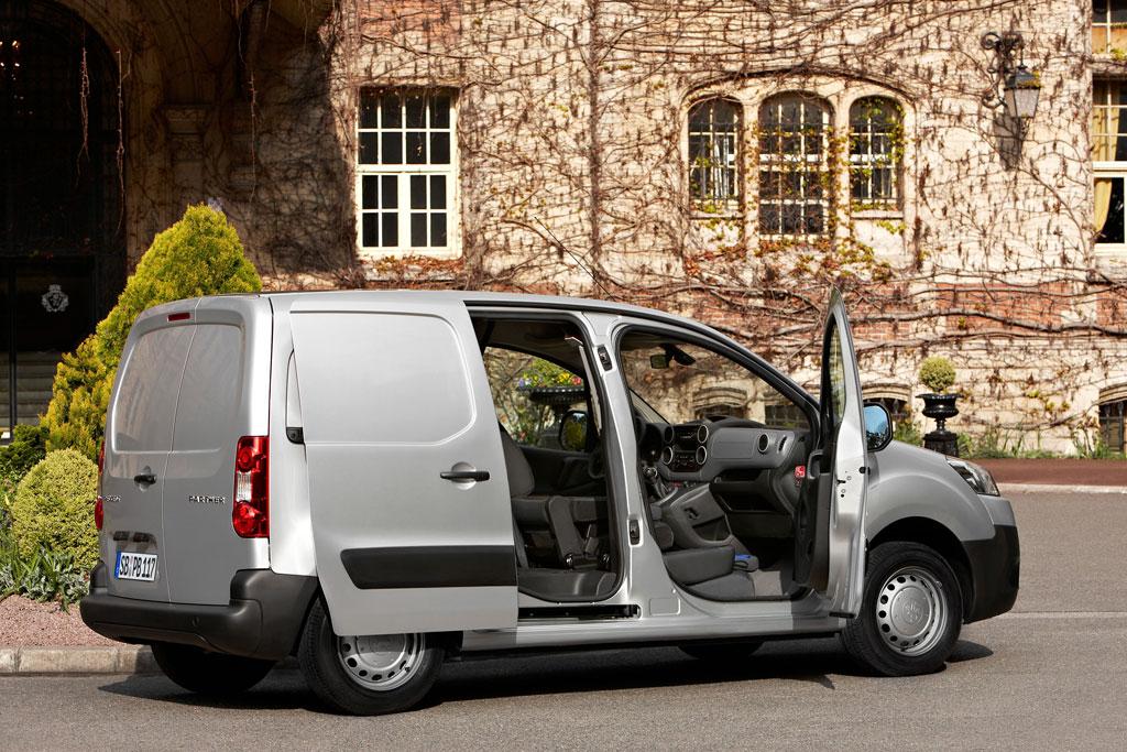 "Peugeot Partner Kastenwagen als ""Service Edition"""