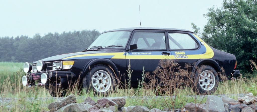 Saab 99 auf dem AvD-Oldtimer-Grand Prix