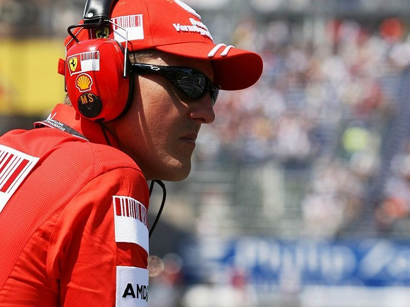 Schumacher soll Speedcar fahren: Nur ein Traum