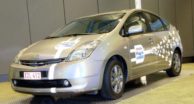 Toyota Plug-In-Hybrid: Tanken aus der Steckdose