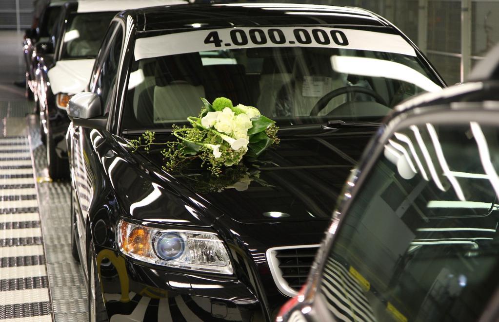 Vier Millionen Volvo aus Gent