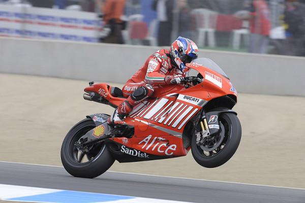 Wechselbad für Ducati in Brno: Kranker Stoner und schwacher Melandri