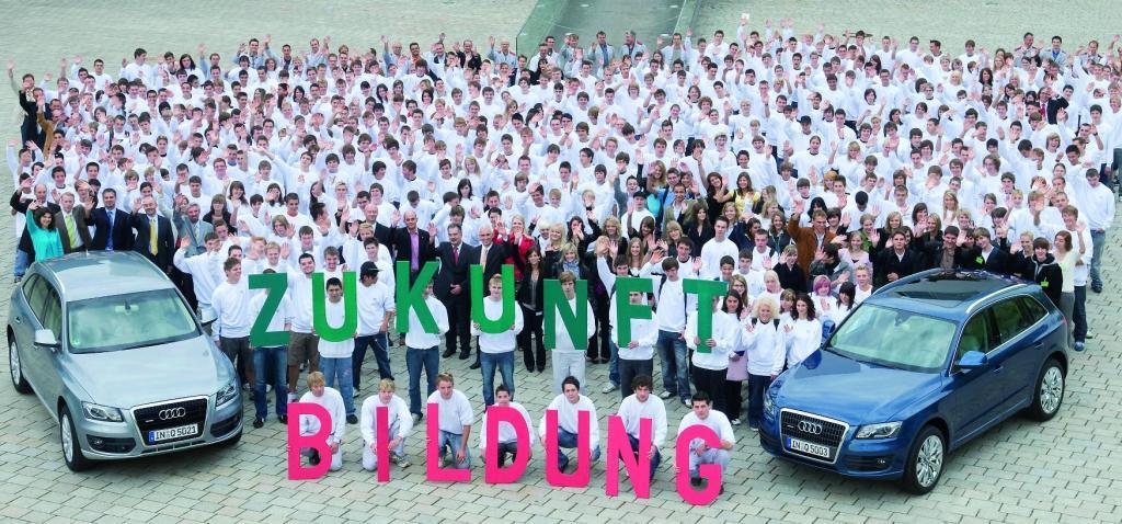 453 Jugendliche beginnen Ausbildung bei Audi in Ingolstadt
