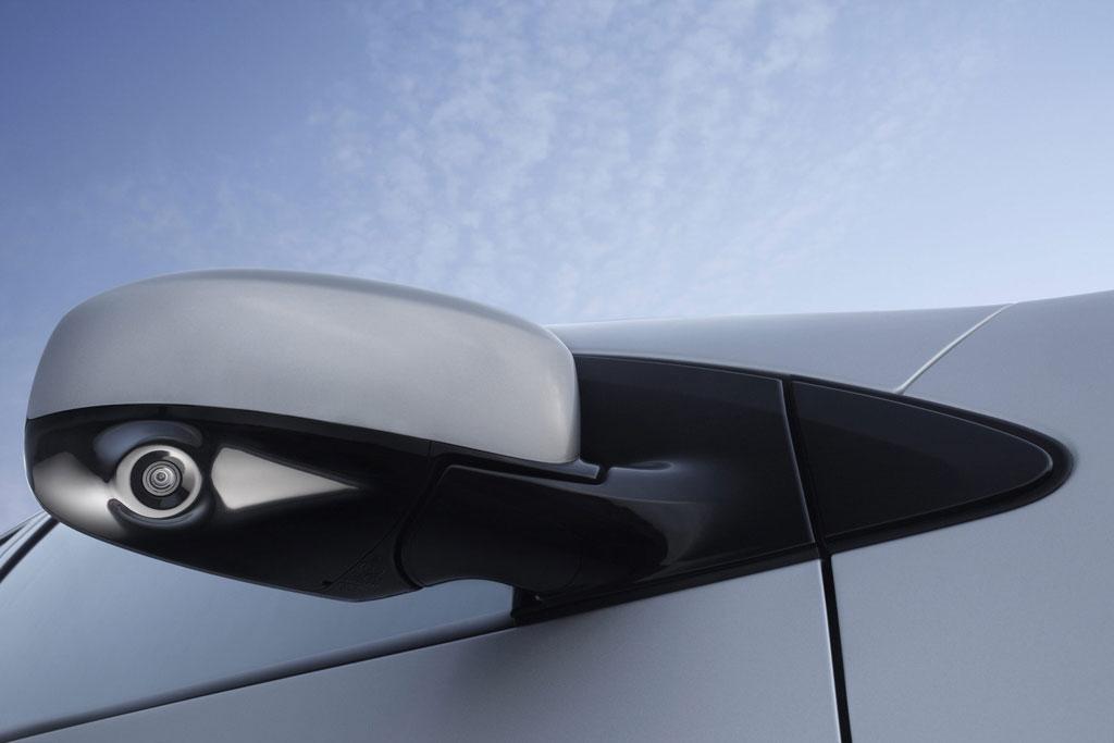 Außenspiegel-Kamera beim Nissan Murano