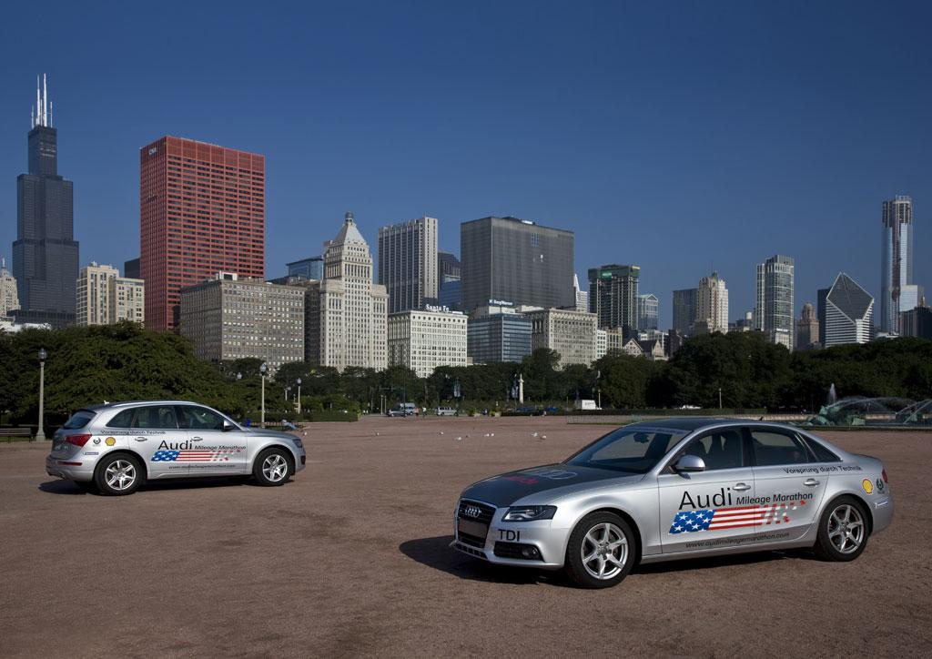 Audi startet Diesel-Offensive in den USA mit Marathonfahrt