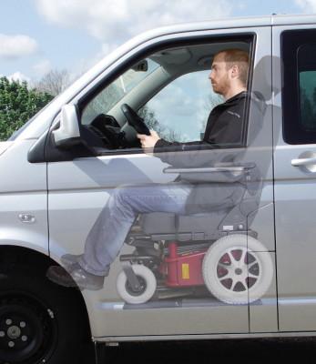 Autoadapt entwickelt Rollstuhl für Autofahrer