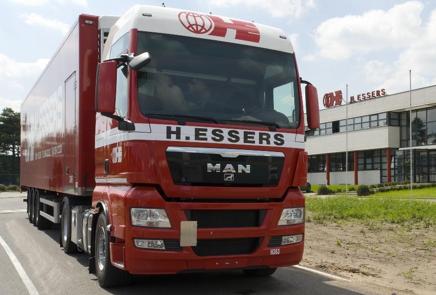 Belgische Essers-Gruppe bestellt mehr als 200 MAN TGX