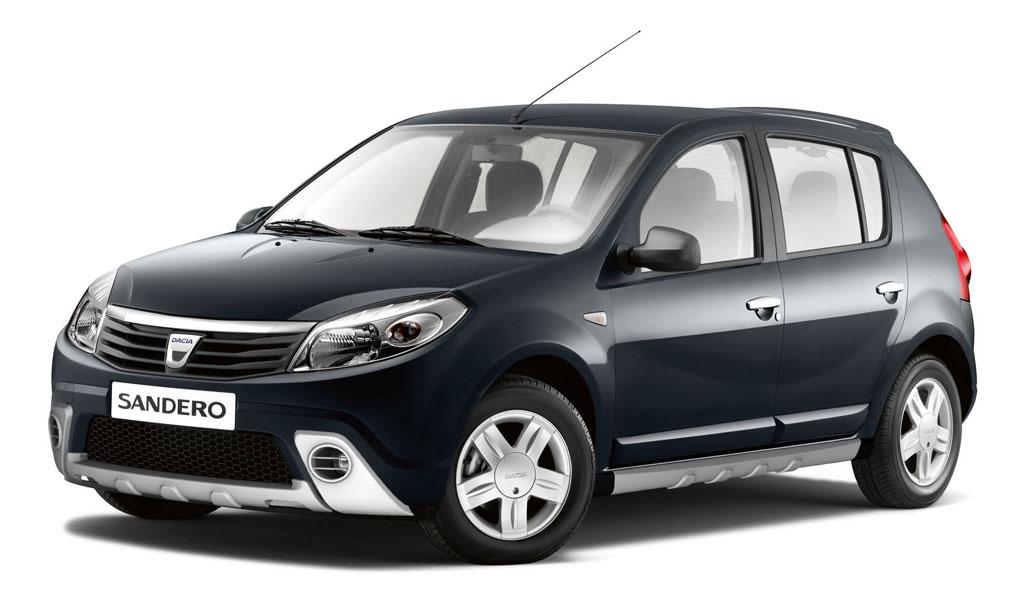 Dacia Sandero mit SUV-Kit