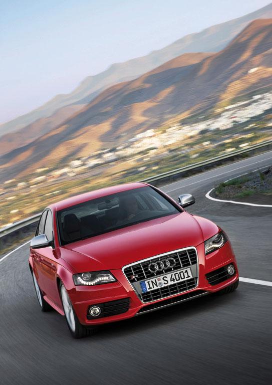 Der Audi S4 3.0 TFSI leistet 333 PS