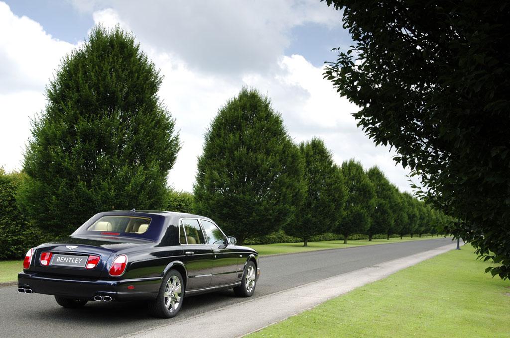 Endspurt für den Bentley Arnage