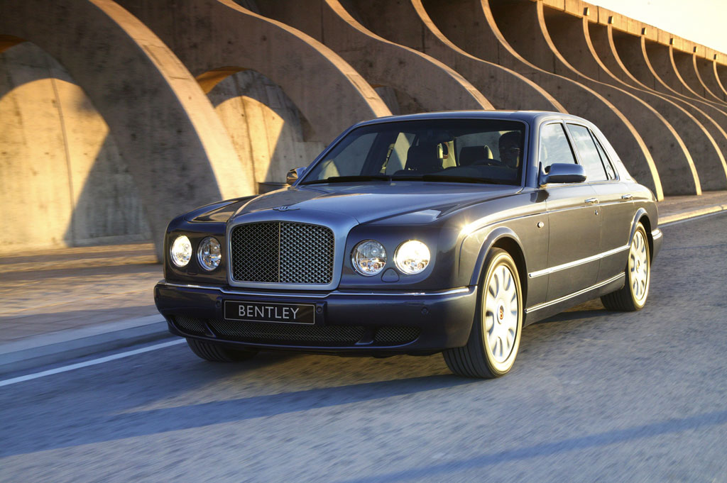 Endspurt für den Bentley Arnage