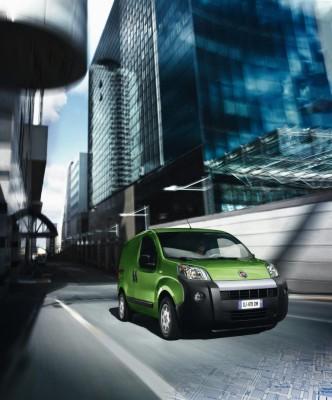 Fiat Fiorino mit Elektromotor