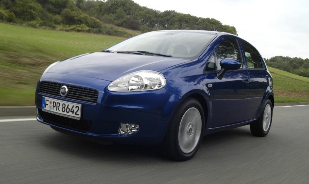 Fiat ruft 15 600 Grande Punto zurück