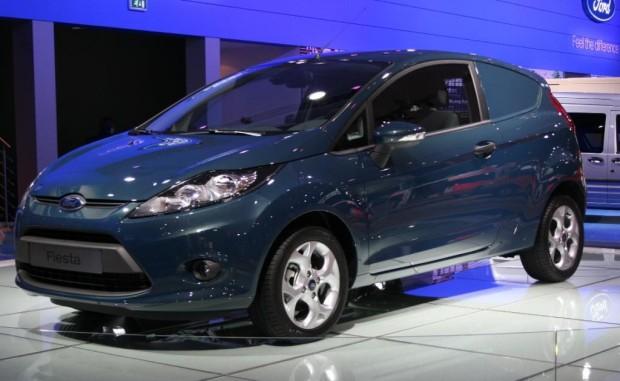 Ford stellt in Hannover den Fiesta Van vor