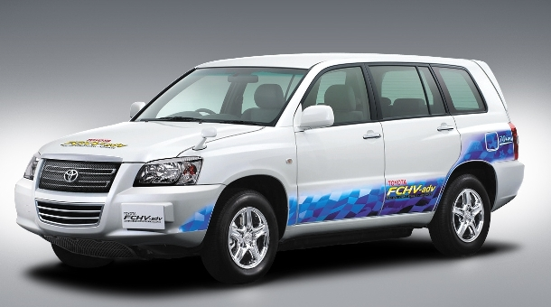 Japanisches Umweltministerium least Toyota FCHV adv