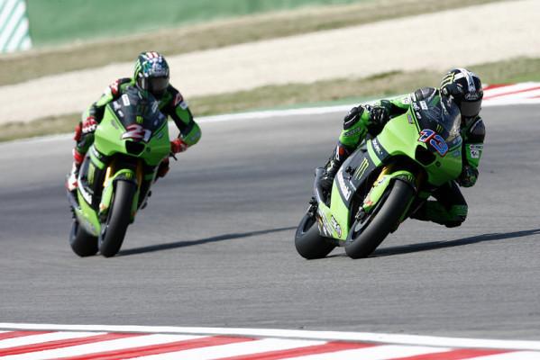 Kawasakis neue Reifen: Aufrüstung bei Grün