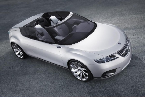 Klappt besser: Saab-Studie mit neuartigem Cabrio-Dach