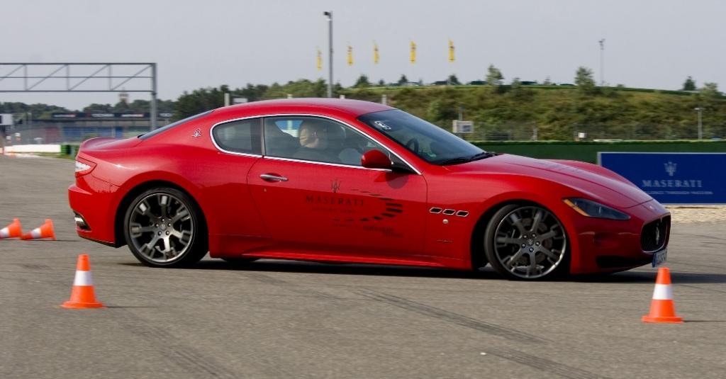 Maserati Driving Camp: Immer die Richtung im Auge