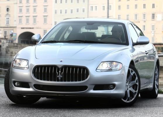 Maserati Quattroporte mit Weltpremiere in Paris