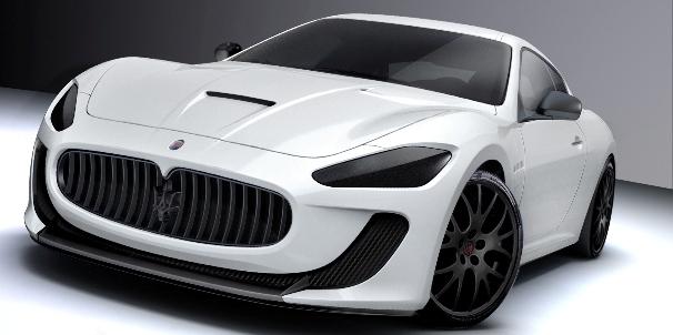 Maserati präsentiert GranTurismo MC Concept