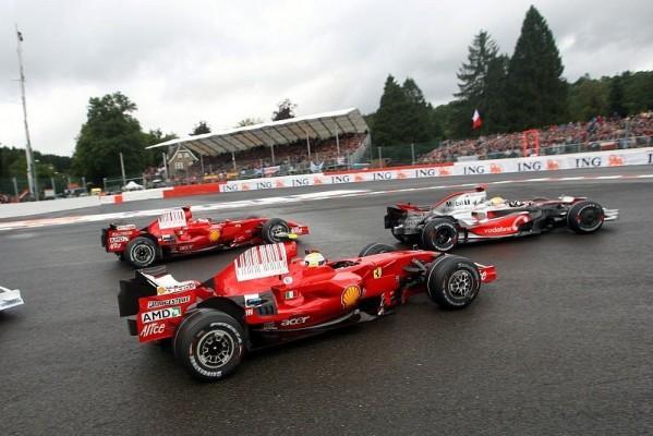 Massa: Hamilton war zu optimistisch: Hätte Kimi nie überholen können