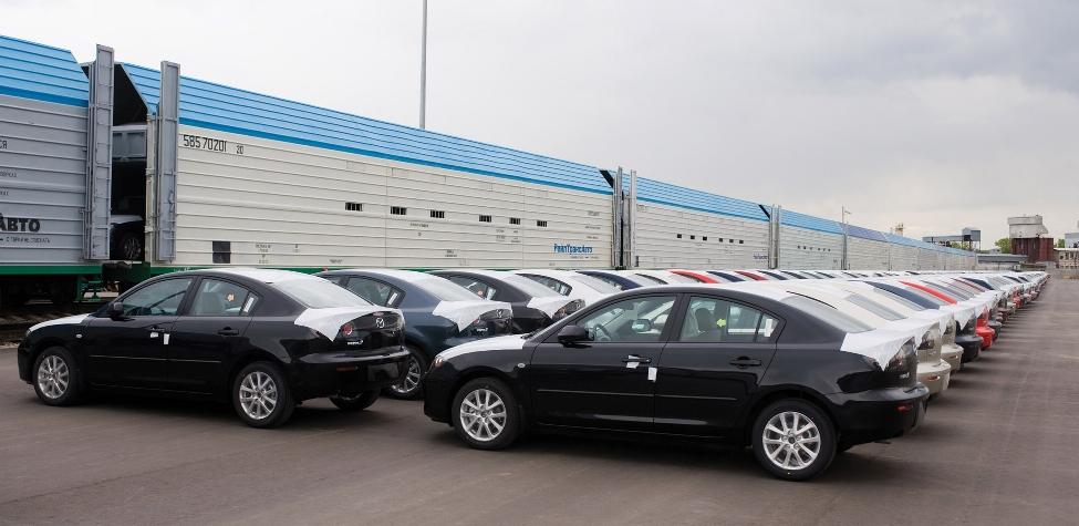 Mazda verlegt Transport auf die Transsibirische Eisenbahn