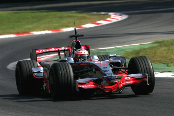 McLaren kämpft in Monza weiter: Kämpfen im Park