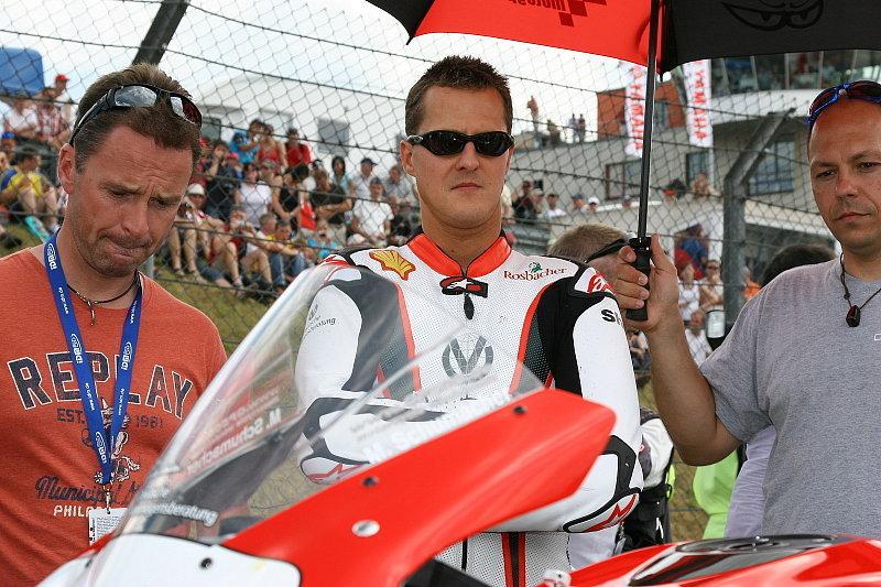Michael Schumachers Zweiradbilanz: Gefährlicher als der Schaukelstuhl