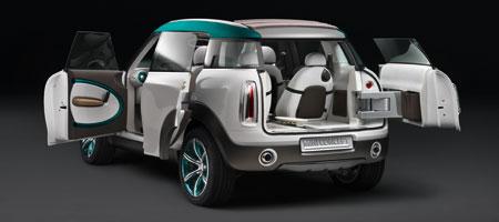 Mini Crossover Concept mit mehr Raum und Allradantrieb