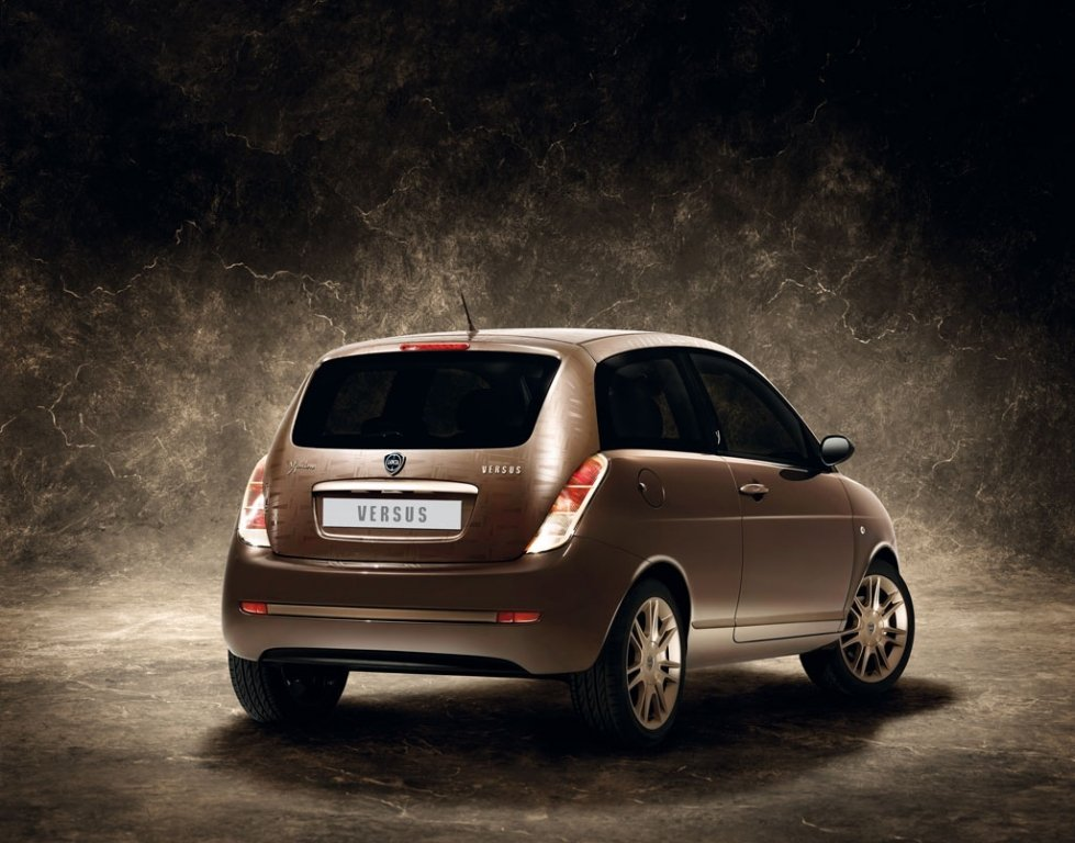 Modische Kleinwagen-Studie von Lancia