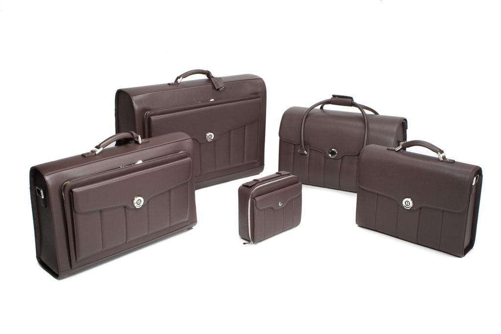 Neue Koffer-Kollektion von Bentley und Dunhill