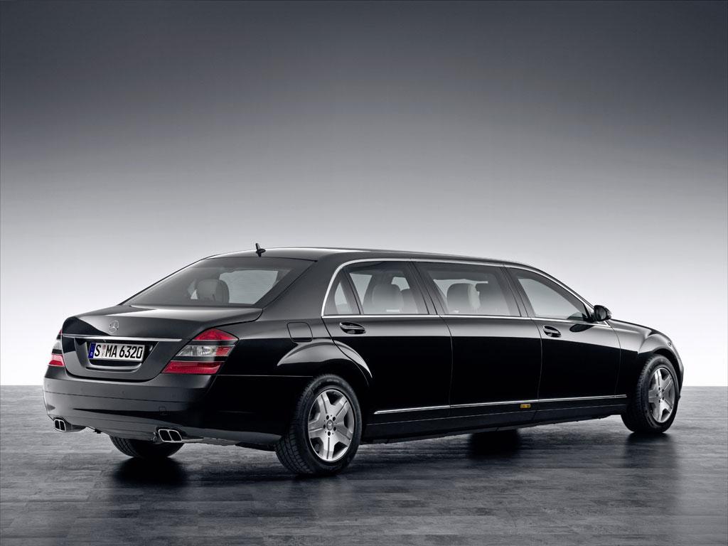 Neue Staatskarosse von Mercedes