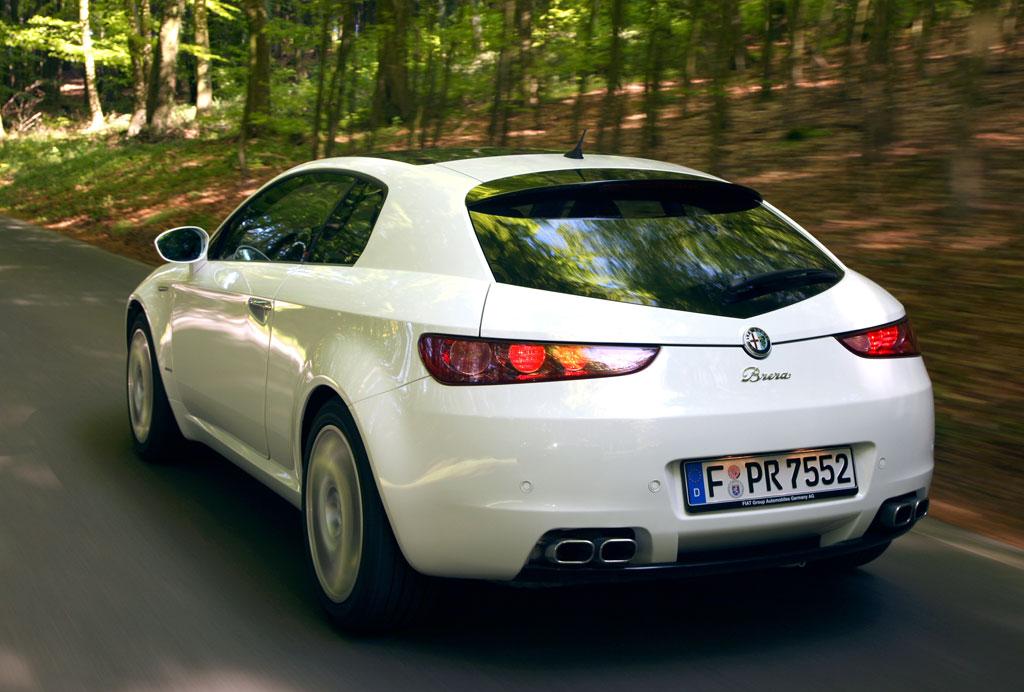 Neue Top-Ausstattung für Alfa Brera